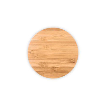Picture of MTC Bamboo Wireless Charger - Brown