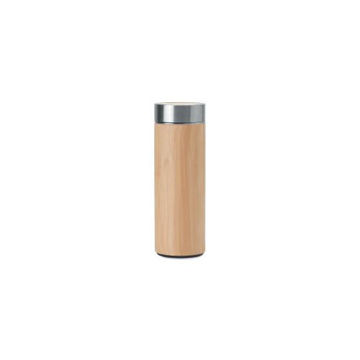 Picture of MTC Double Wall Bamboo Flask, 500ml - Brown