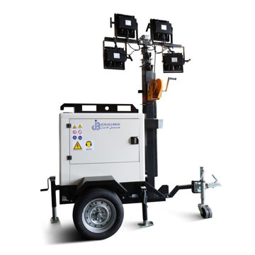 Picture of Kubota Engine Mobile Tower Light