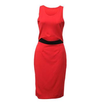 Picture of Women's Sleeveless Mid-Slit Midi Dress - Carton of 24 Pcs