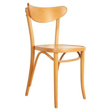 Picture of TON Solid Beech Wood Frame Banana Chair