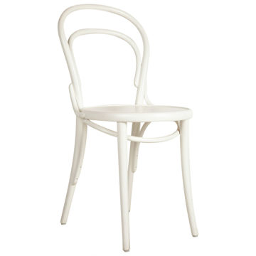 Picture of TON Solid Beech Wood Frame Chair, White