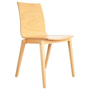 Picture of TON Solid Beech Wood Frame Stockholm Chair, Natural