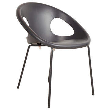 Picture of Montalbano Technopolymer Drop Armchair with Zinc Coated Legs