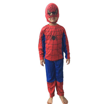 Picture of Spiderman Hosiery Quality Premium Kids Dress (6-7 YRS)