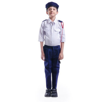 Picture of Traffic Police Dress For Kids (6-7 YRS)