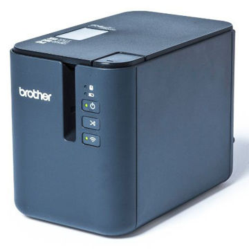 Picture of Brother Wireless Network Printer - PTE950NW, Blue