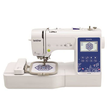 Picture of Brother Innov-is Sewing and Embroidery Machine - NV-180, White & Blue