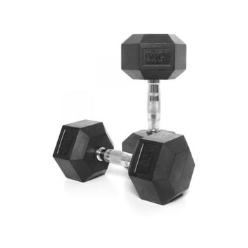 Picture of Prosportsae Rubber Hex Dumbbells