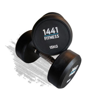 Picture of 1441 Fitness Rubber Round Dumbbells