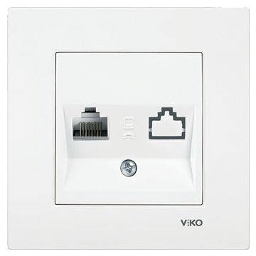 Picture of Viko by Panasonic Karre TV Data RJ45 Socket - Box of 12 Pcs